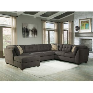 Ashley FurnitureDelta City - Steel 3 Piece Sectional