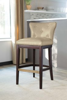 Canidelli - Medium Brown Set Of 2 Dining Room Barstools