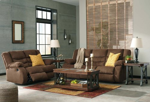Tulen Reclining Sofa - Chocolate