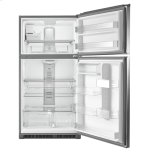 Maytag 33-Inch Wide Top Freezer Refrigerator with EvenAir Cooling Tower- 21 Cu. Ft.