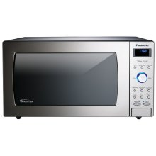 1.6 Cu. Ft. Built-In/Countertop Microwave Oven with Inverter Technology - Stainless Steel - NN-SD797S