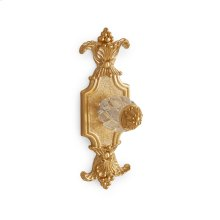 Antique Gold Cut Crystal Louis XVI Cabinet and Drawer Knob