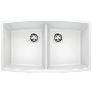 Blanco Performa Equal Double Bowl - White