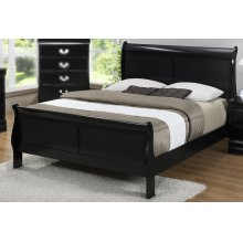 LP Black King Bed