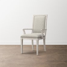 Verona Upholstered Back Arm Chair