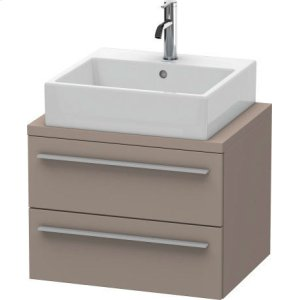 X-large Vanity Unit For Console Compact, Basalt Matt (decor)