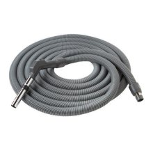 "Crushproof hose, Central Vacs, 30 feet long x 1-3/8"" inner hose diameter in Dark Gray"