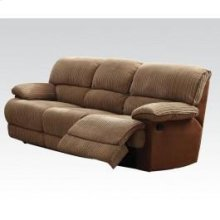L. Brown Sofa W/motion