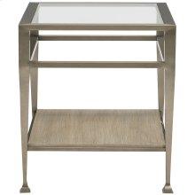 Santa Barbara Metal End Table in Sandstone (385)