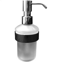 Chrome D-code Soap Dispenser