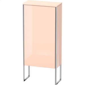 Semi-tall Cabinet Floorstanding, Apricot Pearl High Gloss Lacquer