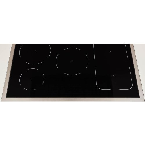 36 inch Induction Range, 5 Heating Zones, Electric Self-Clean Oven Bianco