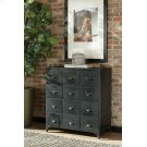 Industrial Black Accent Cabinet Product Image