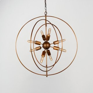 Cosmos Iron Chandelier Small