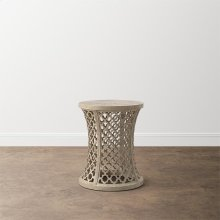 Antiquities Trellis Accent Table