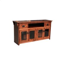 "O-M274 Mission Oak 65"" TV Console"