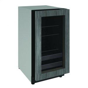 """U-Line2218bev 18"""" Beverage Center With Integrated Frame Finish and Field Reversible Door Swing (115 V/60 Hz Volts /60 Hz Hz)"""
