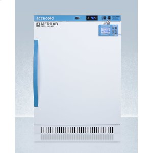 SummitPerformance Series Med-lab 6 CU.FT. Freestanding ADA Height All-refrigerator for Laboratory Storage With Factory-installed Data Logger