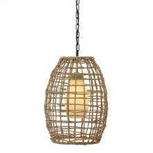 Pendant Light (1/CN) Pendant Light - Natural Collection Ashley at Aztec Distribution Center Houston Texas