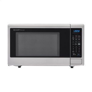 Sharp 鸭博娱乐s2.2 cu. ft. 1200W Stainless Steel Countertop Microwave Oven