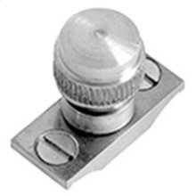 Urban Brass Acorn sash stop without chain