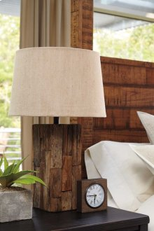 Wood Table Lamp (1/CN)