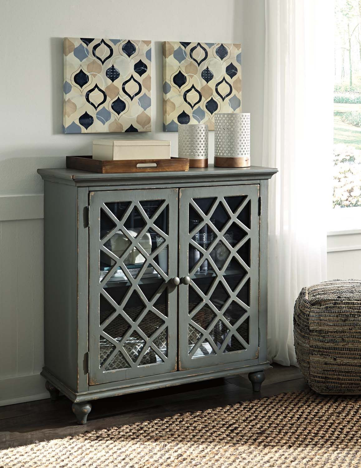 Delightful Hidden · Additional Door Accent Cabinet