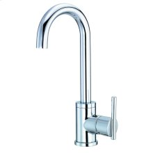 Chrome Parma® Single Handle Bar Faucet