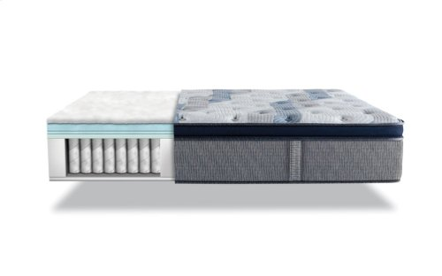iComfort Hybrid - Blue Fusion 300 - Plush - Pillow Top - Cal King