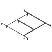 Engineered PL860/RB Bed Frame with Reversed Fixed Head & Food Panel Brackets and (6) Glide Legs, California King