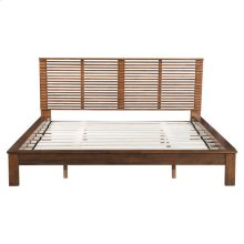 Linea King Bed Walnut