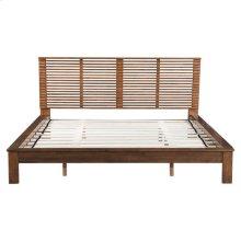 Linea King Bed Walnut
