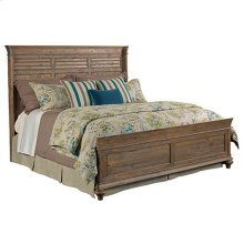 Weatherford Heather Shelter Queen Bed - Complete