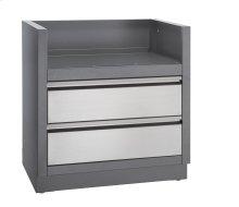 OASIS™ under grill cabinet for built-in prestige PRO™ 500 or Prestige™ 500