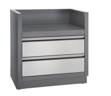 OASIS™ under grill cabinet for built-in prestige PRO™ 500 or Prestige™ 500