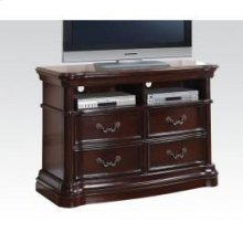 Dark Cherry TV Console