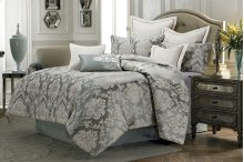 10pc King Comforter Set Mineral