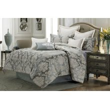 9pc Queen Comforter Set Mineral
