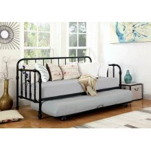 Traditional Black Metal Daybed