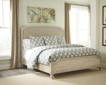 Queen Demarlos Upholstered Bed w/Rails