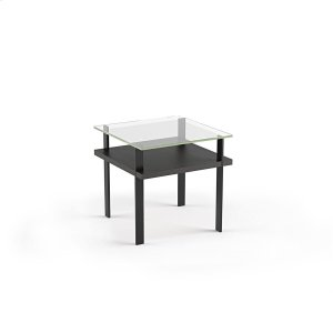 Bdi FurnitureEnd Table 1156 in Charcoal Stained Ash