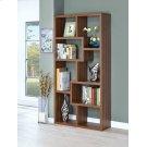 Transitional Walnut Bookcase Product Image