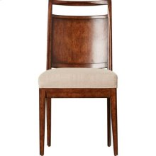 Mulholland Wood Back Chair - Pecan