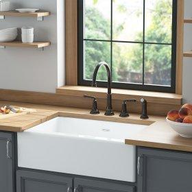 Delancey 30x22-inch Apron Sink  American Standard - Brilliant White