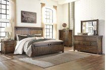 Lakeleigh - Brown 3 Piece Bed Set (King) Product Image