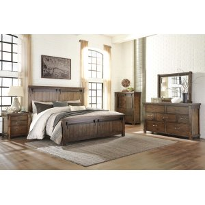 Ashley Furniture Lakeleigh - Brown 3 Piece Bed Set (King)