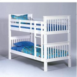 Sadler Twin over Twin Bunk Bed - White