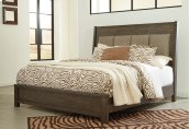 Camilone - Dark Gray 3 Piece Bed Set (Cal King)