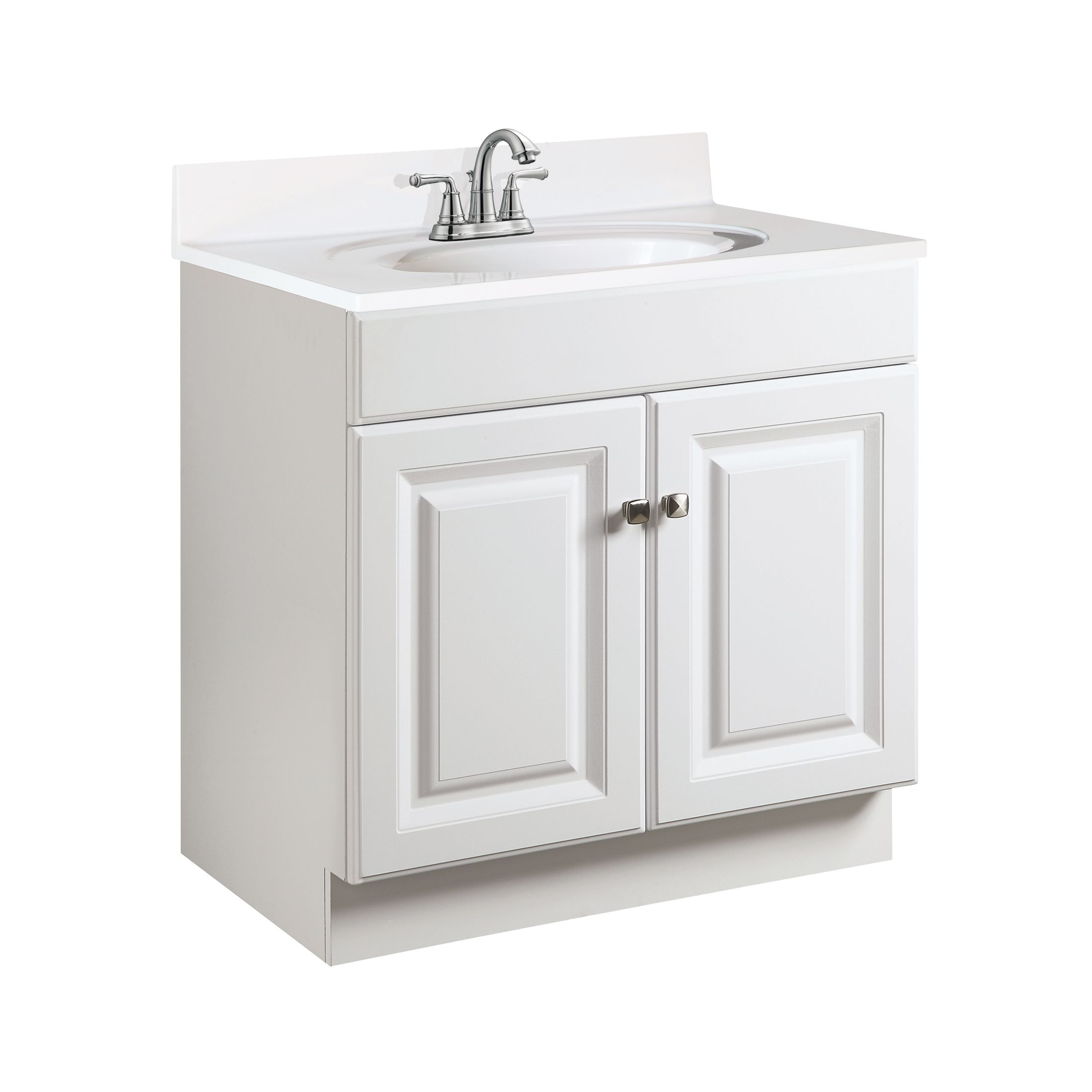 "Wyndham 2-Door Vanity, 24"", White #531939"
