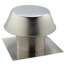"12"", Roof Cap, For Flat Roof, Aluminum"